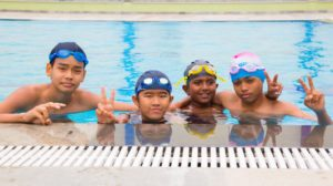 Students - Swimming - Pool