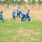Childrens Playing Football Thumbnail