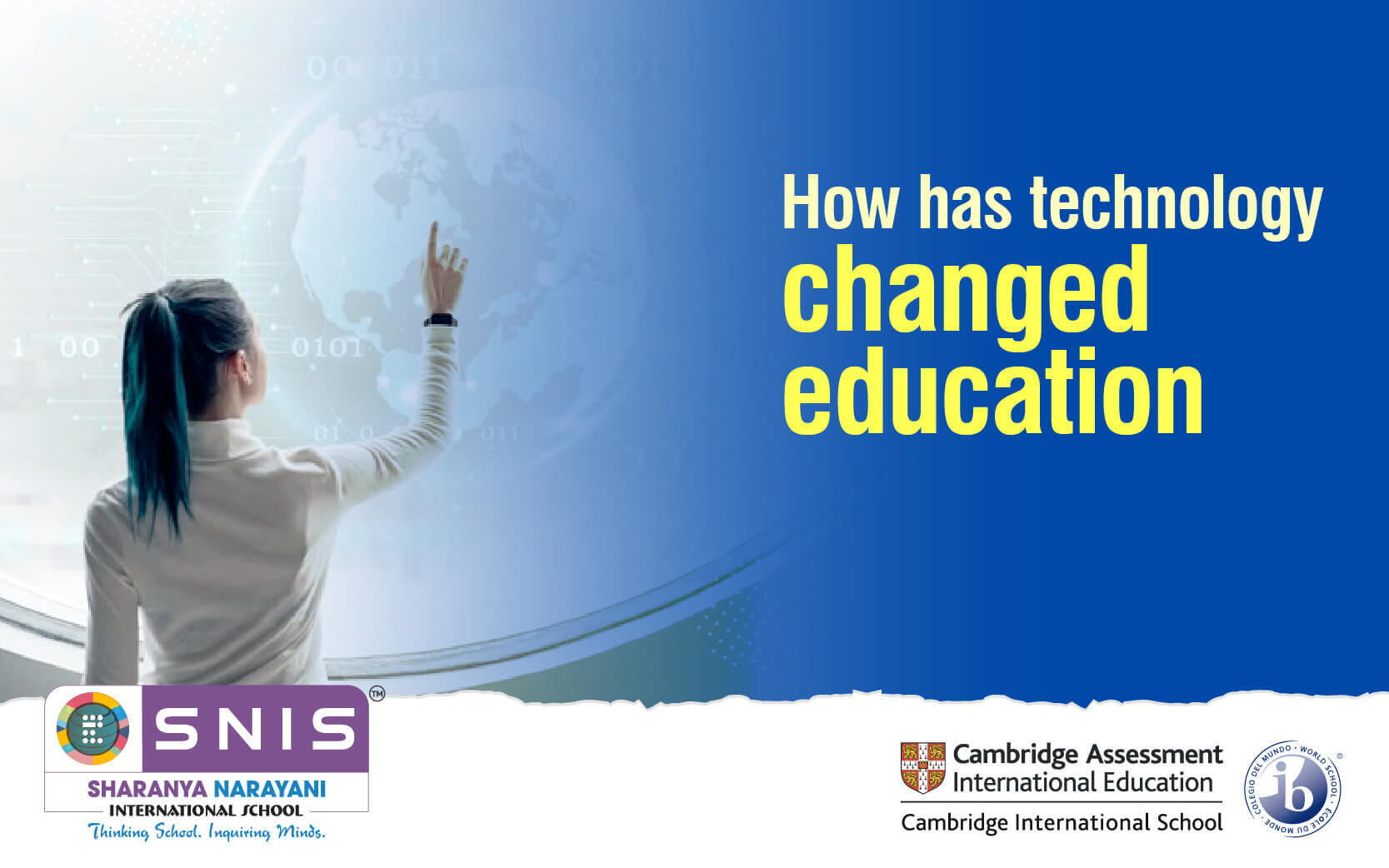 How has technology changed education by Best international schools in bangalore