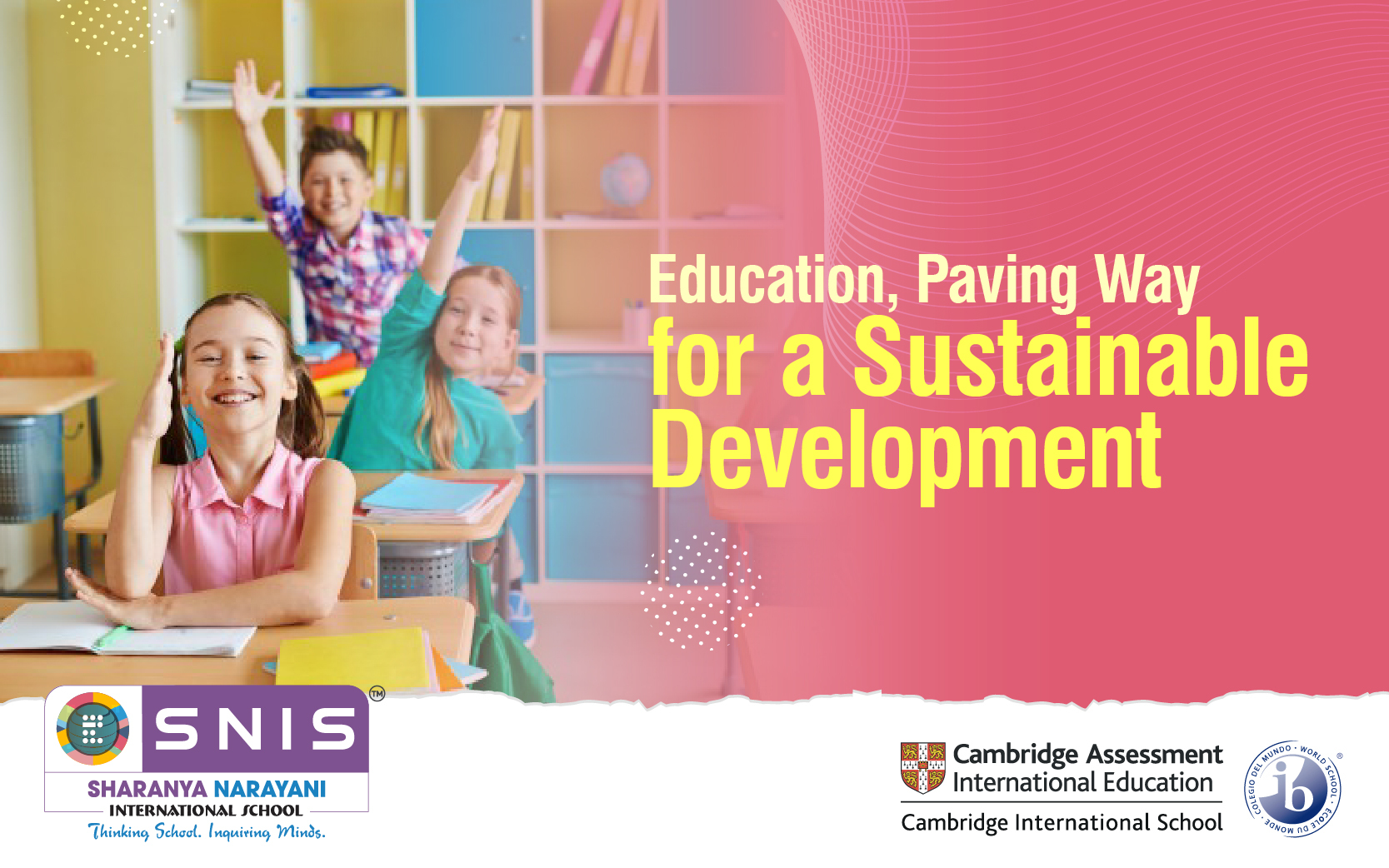 Education, Paving Way for a Sustainable Development by Boarding schools in bangalore