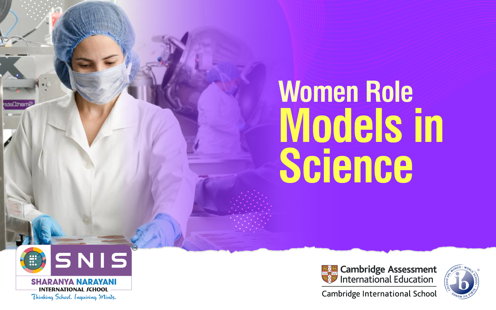 Women Role Models in Science by Ib schools in bangalore