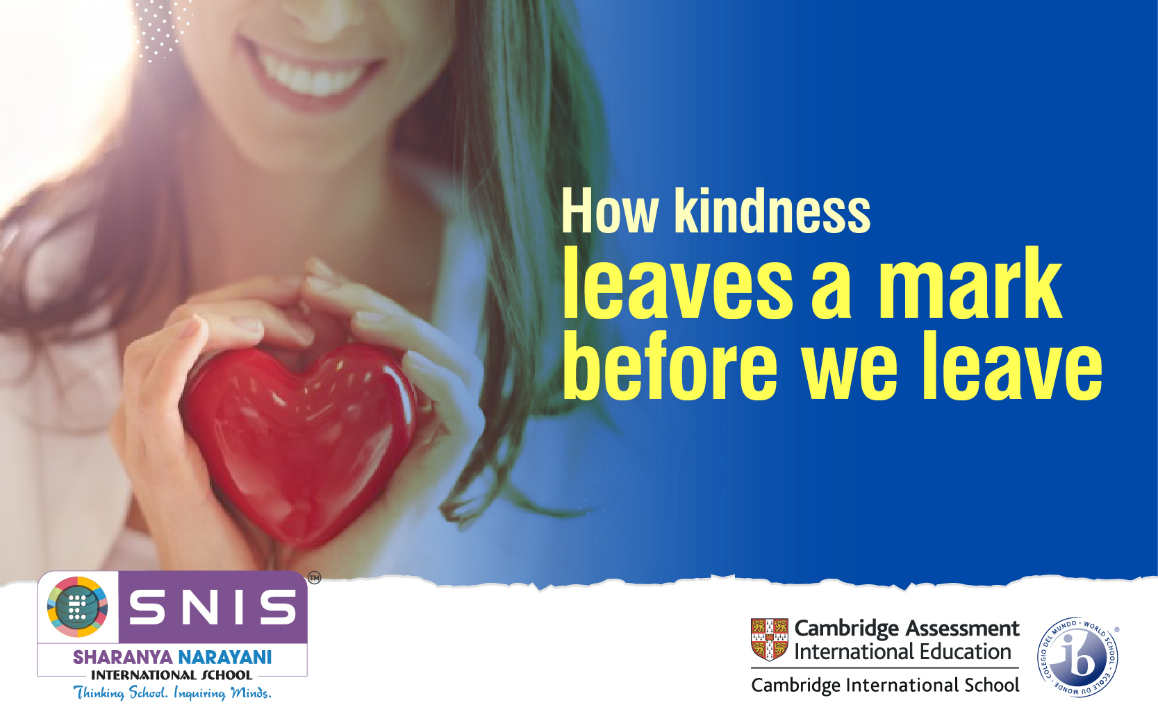 How kindness leaves a mark before we leave by Best international schools in bangalore by