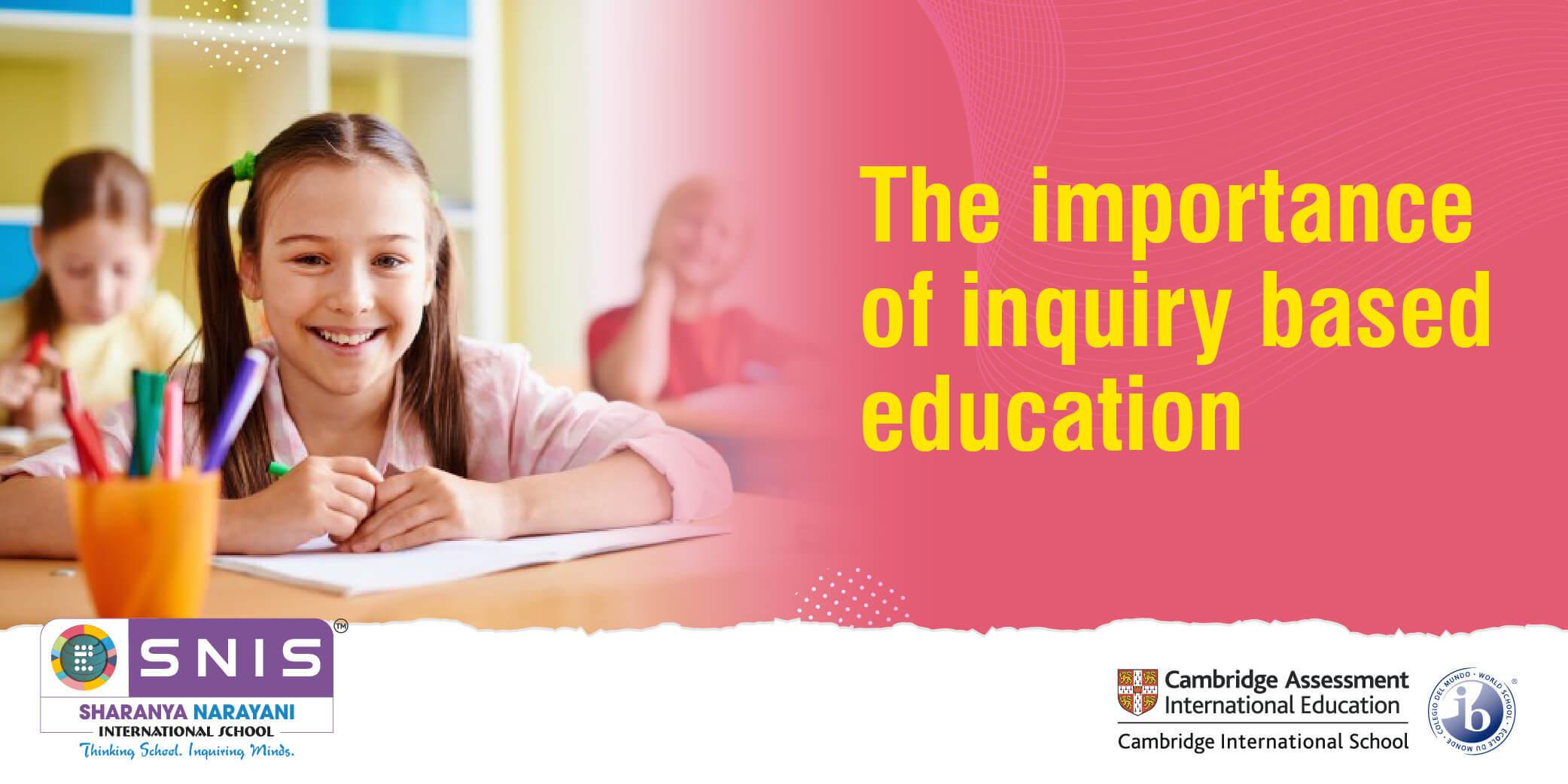 inquiry based education by international boarding school